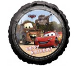"18"" Car & Mater Happy Birthday Foil Balloon"