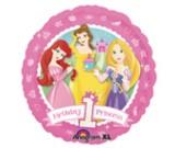 "18"" Disney Princess Happy 1st Birthday Balloon"