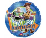 "18"" Happy Birthday Toy Story Foil Balloon"