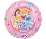 "18"" Disney Princess Happy  Birthday Balloon"