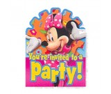 'Mickey Mouse Invitations