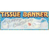Happy 1st Birthday Banner