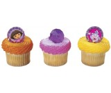 DORA the Explorer 12 Party Cupcake Decoration Rings