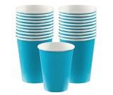 Blue Paper Cups 20pcs