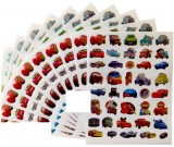Cars Stickers 10 sheets per pack