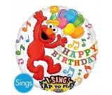 28in Elmo Singing Foil Balloon
