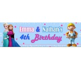 Frozen and Bob Builder Banner