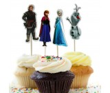 Frozen Cupcake Pics 12pcs