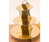 Gold Colour Cupcake Stand