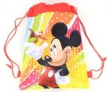 Mickey Mouse Red Draw String Favor Bag