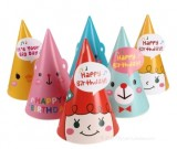 Korean Style 6pcs Cone Hat