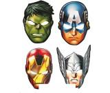 Avengers Paper Masks
