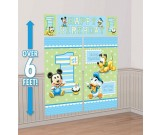 Mickey Mouse 1st Birthday Scene Setter