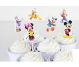 Mickey and Friends Cupcake Pics 12pcs