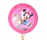 Minnie Mouse Pull String Piñata