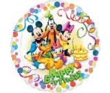 18: Mickey & Friends Party HBD Foil Balloon
