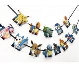 Pokemon Cutout Birthday Banner