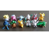 Pokemon Figure Cake Topper Set 9- 12pcs