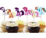My Little Pony Cupcake Pics 12pcs