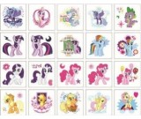 My Little Pony Tattoos 20pcs