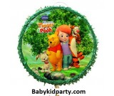 Pooh & Friends Pull String Piñata