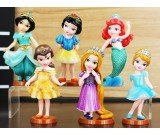Disney Princess 6pcs Figurine Topper