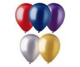 "12"" Metallic Colour Assorted Latex Balloons"