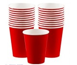 Red Paper Cups 20pcs