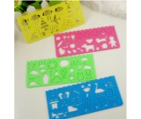 Shaped rulers 4pcs