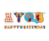 Sesame Street Birthday Banner Kit