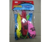 12in Spiderman Printed Latex Balloons 8pcs per pack