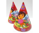 Dora & Friends Paper Cone Hats