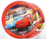 Cars Dessert Plates