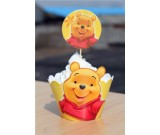 Winnie Pooh Cupcake skirting and cupcake pics Set 12pcs