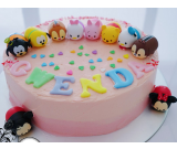 Tsum Tsum Figurine Cake Topper